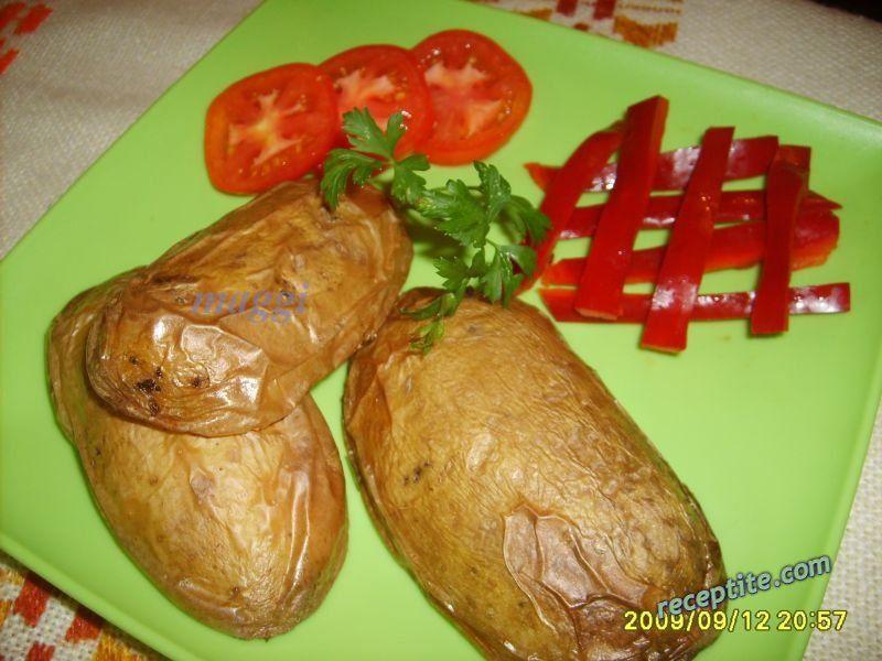 Снимки към Надупени картофи