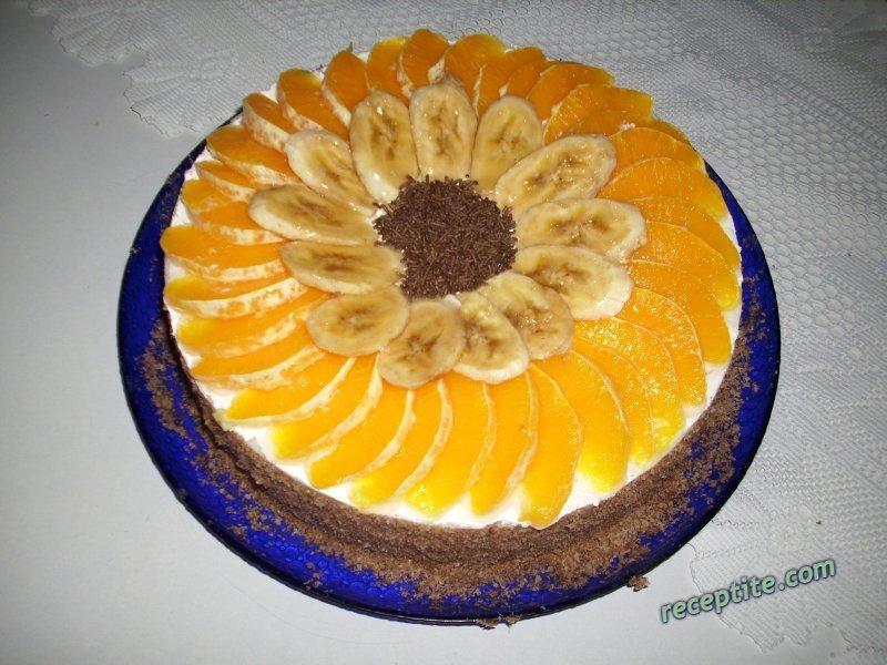 Снимки към Торта с орехови блатове