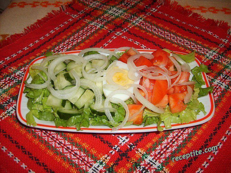 Снимки към Зеленчукова салата Стефи