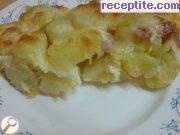 снимка 2 към рецепта Картофки за мезе от Нели