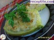 Пълнени тиквички с ориз и пилешко месо