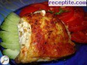 снимка 1 към рецепта Пилешки бутчета пълнени с три вида сирене