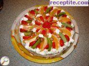 Плодова торта Фантазия