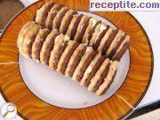 снимка 1 към рецепта Бисквитен десерт с шоколадов сос