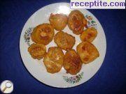 Панирани варени картофи