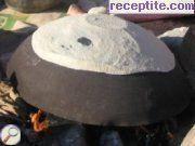 снимка 1 към рецепта Хляб на сач - на огнище