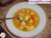 Картофена супа с домат и фиде
