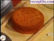 Fat base for layered cake