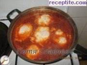 recipe photo 8 Poached eggs with tomatoes