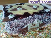 recipe photo 4 Biscuit layered cake with margarine and walnuts
