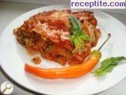 снимка 2 към рецепта Вегетарианска лазаня с патладжан и спанак