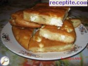 Banitsi with feta cheese and cheese