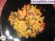 recipe photo 2 Rice with vegetables and veal