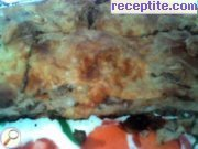 Banitsa with minced meat and soda