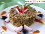 recipe photo 1 Nettle rice