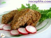 Minced meat with bulgur oven