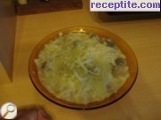 Danube noodles with mushroom sauce