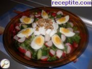 recipe photo 2 Spring salad with radishes