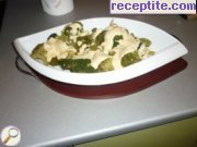 Broccoli with 4 types of cheese