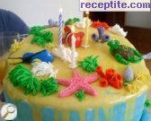 recipe photo 9 Layered cake ready bases and two types of Ghana