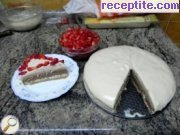 recipe photo 12 Layered cake ready bases and two types of Ghana