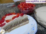 recipe photo 13 Layered cake ready bases and two types of Ghana