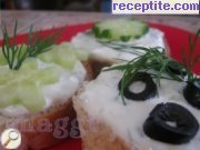 recipe photo 3 Paste feta cheese with cucumber