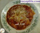 Chicken with tomato sauce and cheese