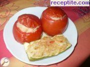 Tomatoes with rice