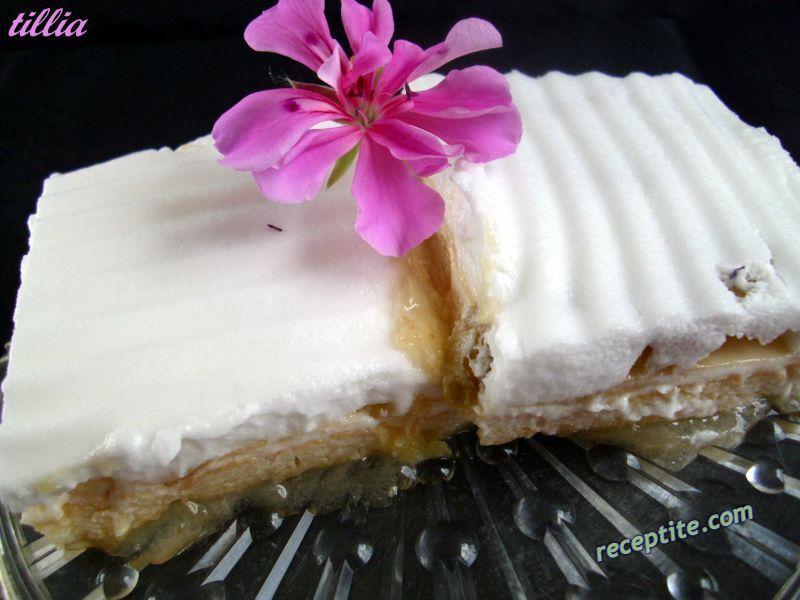 Снимки към Студен сладкиш с лимонови резанки