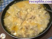 Бързо пилешко с три вида готов сос на тиган