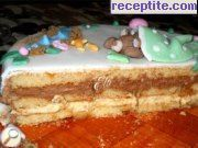 recipe photo 17 Layered cake ready bases and two types of Ghana