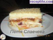 recipe photo 3 Biscuit layered cake with croissants and cream