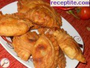 Fried bread with stuffing