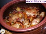 recipe photo 2 Vegetables with chicken in a pot