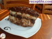 recipe photo 8 Layered cake Choco-Cheese