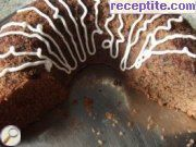 Wine-chocolate sponge cake