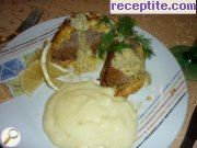 Roast beef with sauce Hollandaise * *