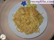 Chinese Spaghetti with vegetables and chicken