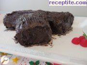 снимка 11 към рецепта Коледно пънче (Yule log)