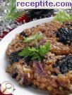 Bulgur with prunes