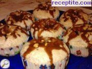 Choco cakecheta sponge with cream cheese and caramel