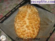 Pita stuffed with Pineapple