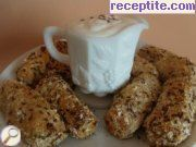 Vegetable croquettes with cheese
