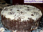 recipe photo 18 Layered cake Choco-Cheese
