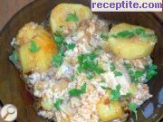 Slavic chicken with potatoes