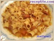 Pasta Fagioli with beans
