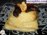 recipe photo 11 Puff pastry with cream and walnuts