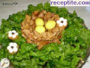 recipe photo 4 Spring salad with spinach