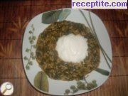 Spinach with rice - II type